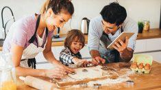 Descubre cuatro recetas fáciles que podemos hacer con los niños en casa