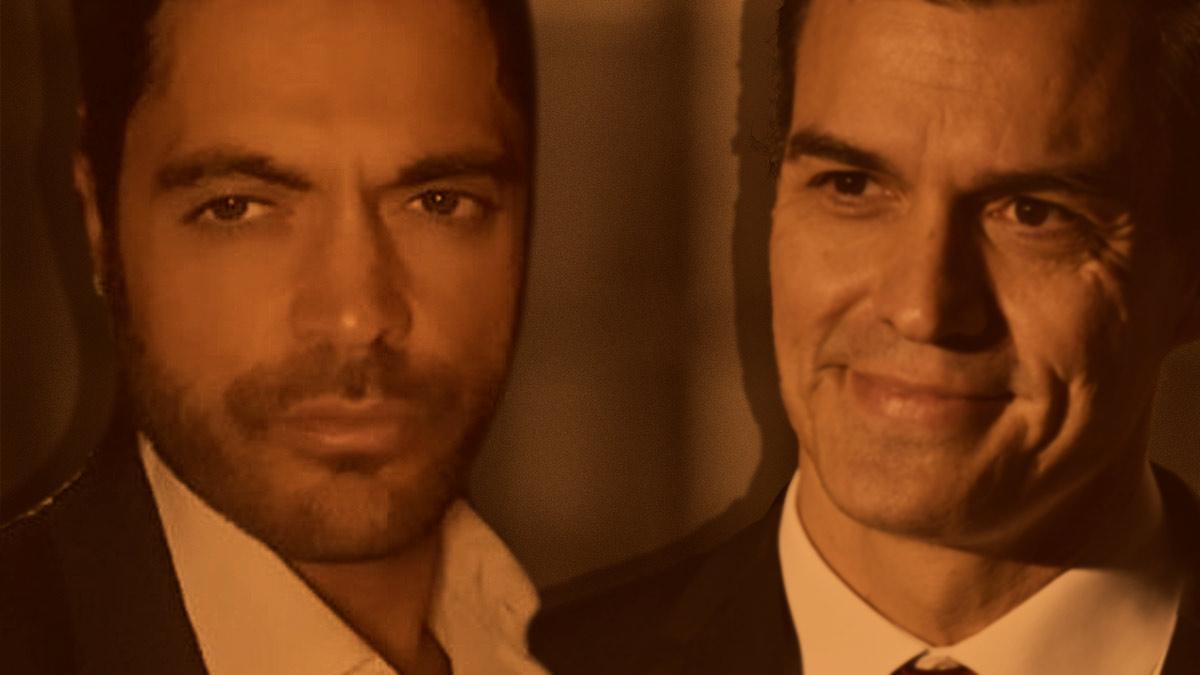 El abogado Víctor Valladares y el presidente del Gobierno, Pedro Sánchez.