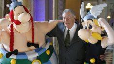 Albert Uderzo, uno de los creadores de Astérix. Foto AFP