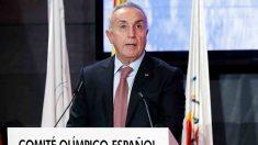 Alejandro Blanco, presidente del Comité Olímpico Español. (@COE_es)