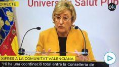 Ana Barceló, consejera valenciana de Sanidad