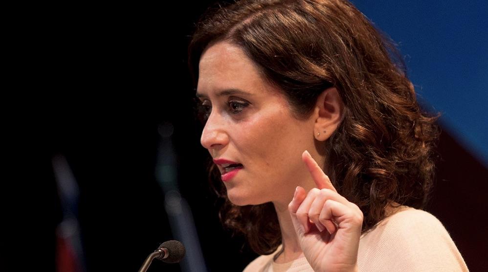Isabel Díaz Ayuso en una imagen de archivo.