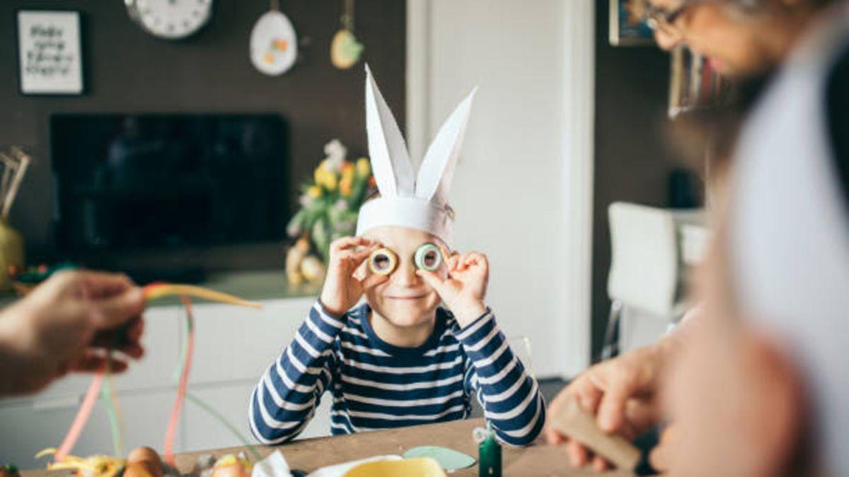 Manualidades que podemos hacer con los niños para celebrar la Semana Santa
