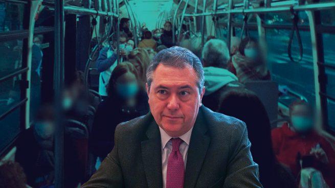 Los autobuseros de Sevilla explotan contra el alcalde socialista Espadas: «Miente usted, sí hay hacinamiento»
