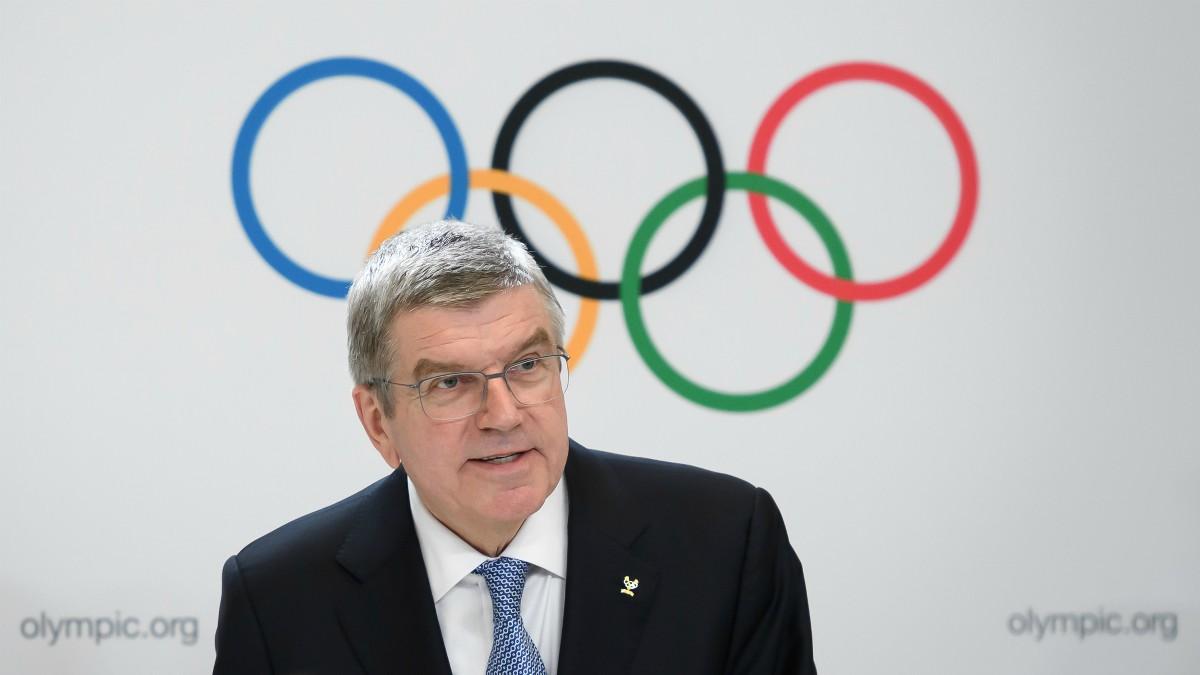 Thomas Bach, presidente del Comité Olímpico Internacional. (AFP)
