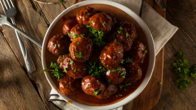 Recetas de confinamiento: Albóndigas en salsa de Rioja