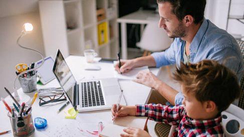 Qué podemos hacer para teletrabajar teniendo a los niños en casa