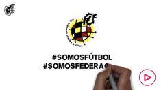 La Federación Española de Fútbol planta cara al coronavirus.