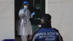 El Ayuntamiento de Madrid haciendo pruebas diagnósticas del coronavirus a los servicios esenciales municipales. (Foto: Madrid)