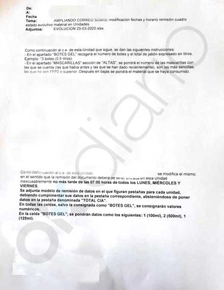 La Guardia Civil pide a sus agentes racionalizar y justificar cada uso de mascarillas por la falta de material