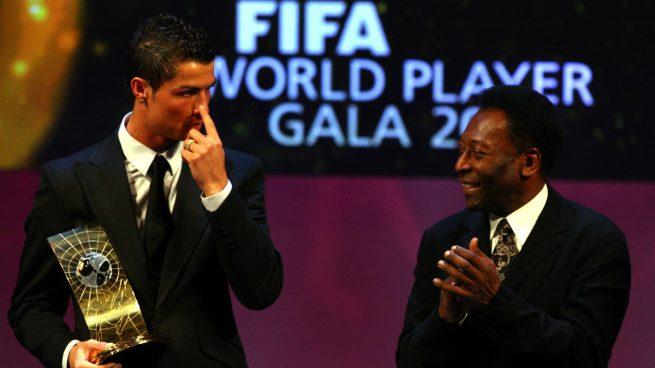 Pelé: «Hoy por hoy Cristiano es el mejor, aunque no hay que olvidarse de Messi»