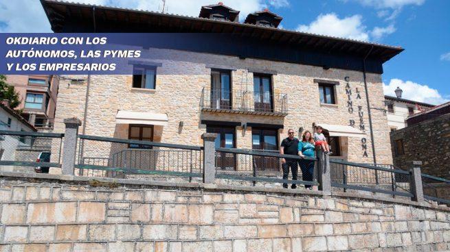 Los hoteleros: los grandes afectados por la crisis del coronavirus. Hotel rural en Soria.