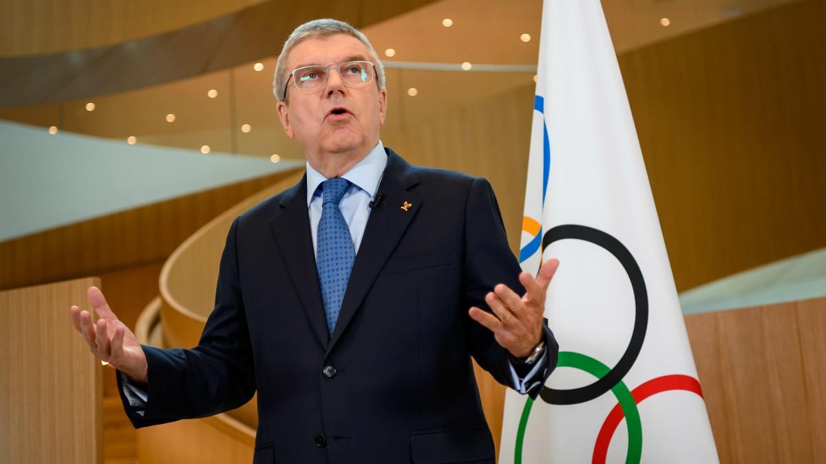 Thomas Bach, presidente del COI. (AFP)