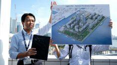 El proyecto de la Villa Olímpica de Tokio 2020. (Getty)