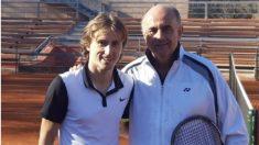 Antonio Zapatero, junto a Luka Modric. (@ZapateroAntonio)