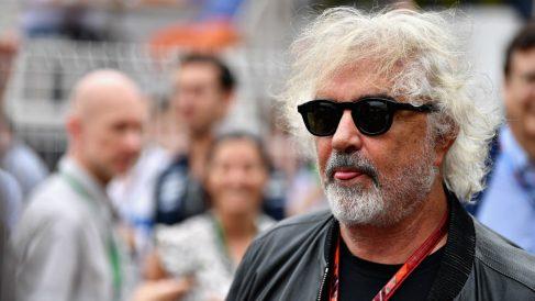 Flavio Briatore, en un Gran Premio de Fórmula 1. (Getty)