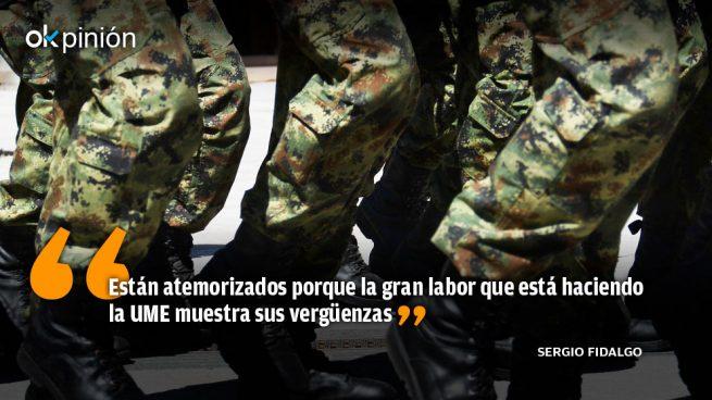 Si Torra insulta al Ejército es porque tiene miedo