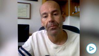 Oscar Ramírez, médico contagiado por coronavirus