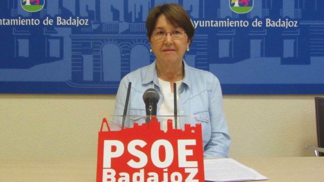 Rita Ortega, concejal del PSOE en Badajoz.