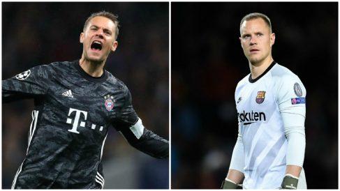 La no renovación de Neuer pone en alerta al Barça por Ter Stegen.