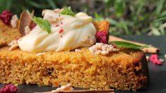 Receta de Bizcocho de zanahoria y frutos secos