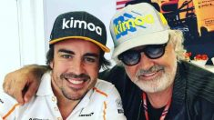 Fernando Alonso y Flavio Briatore. (Instagram)