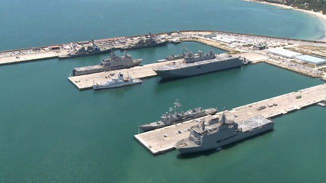 Base naval de Rota (Cádiz).