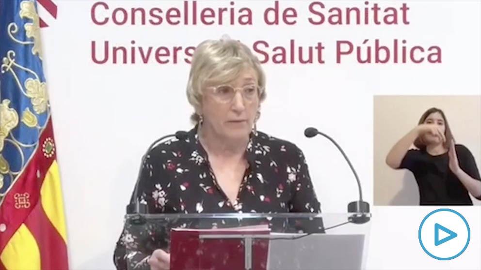 La consejera de Sanidad valenciana, Ana Barceló.