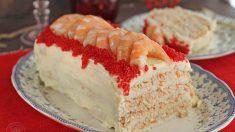 Receta de pastel de carabineros