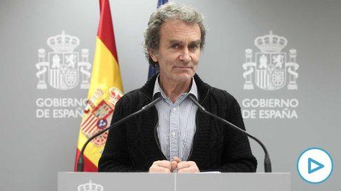 Fernando Simón durante su comparecencia el 11 de marzo.