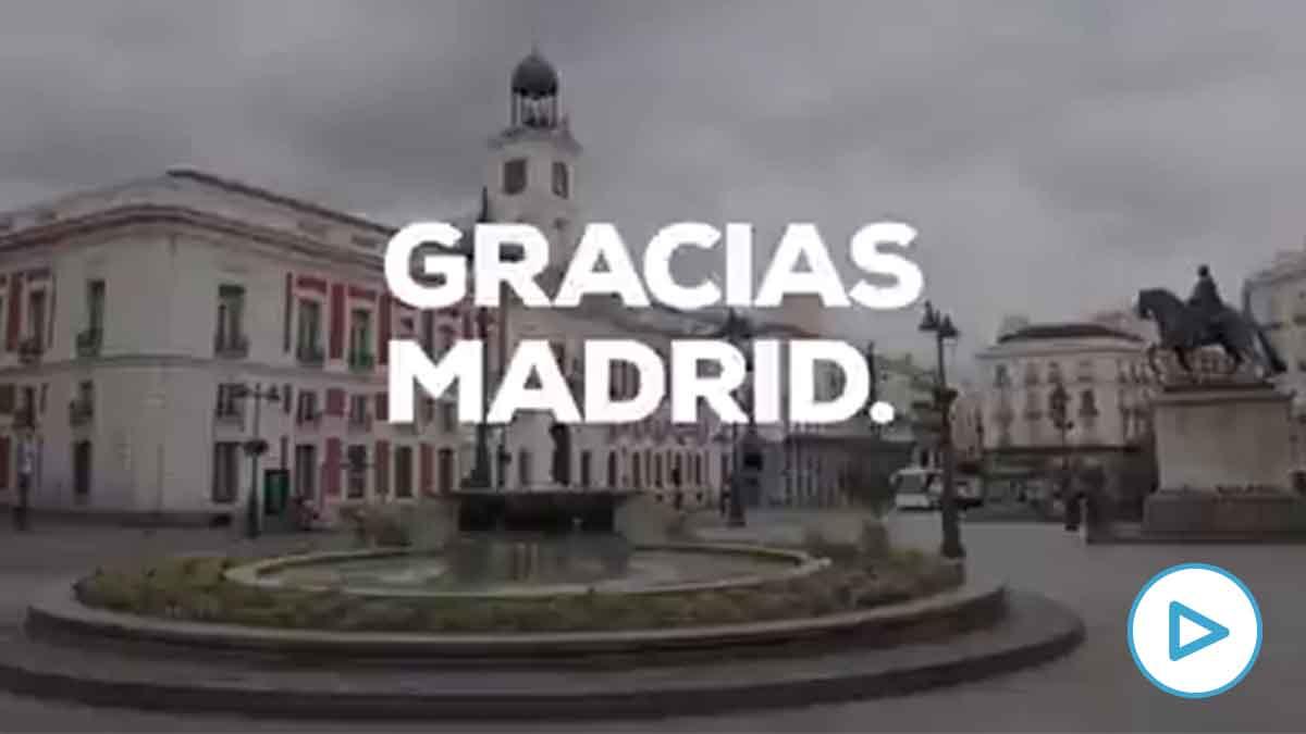 Vídeo de agradecimiento del PP a los ciudadanos de toda España.