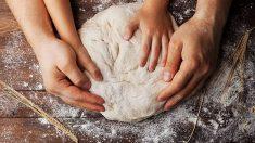 Pasos para que los niños aprendan a hacer pan en casa