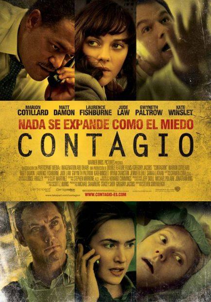Contagio coronavirus covid-19 video medidas pelicula netflix