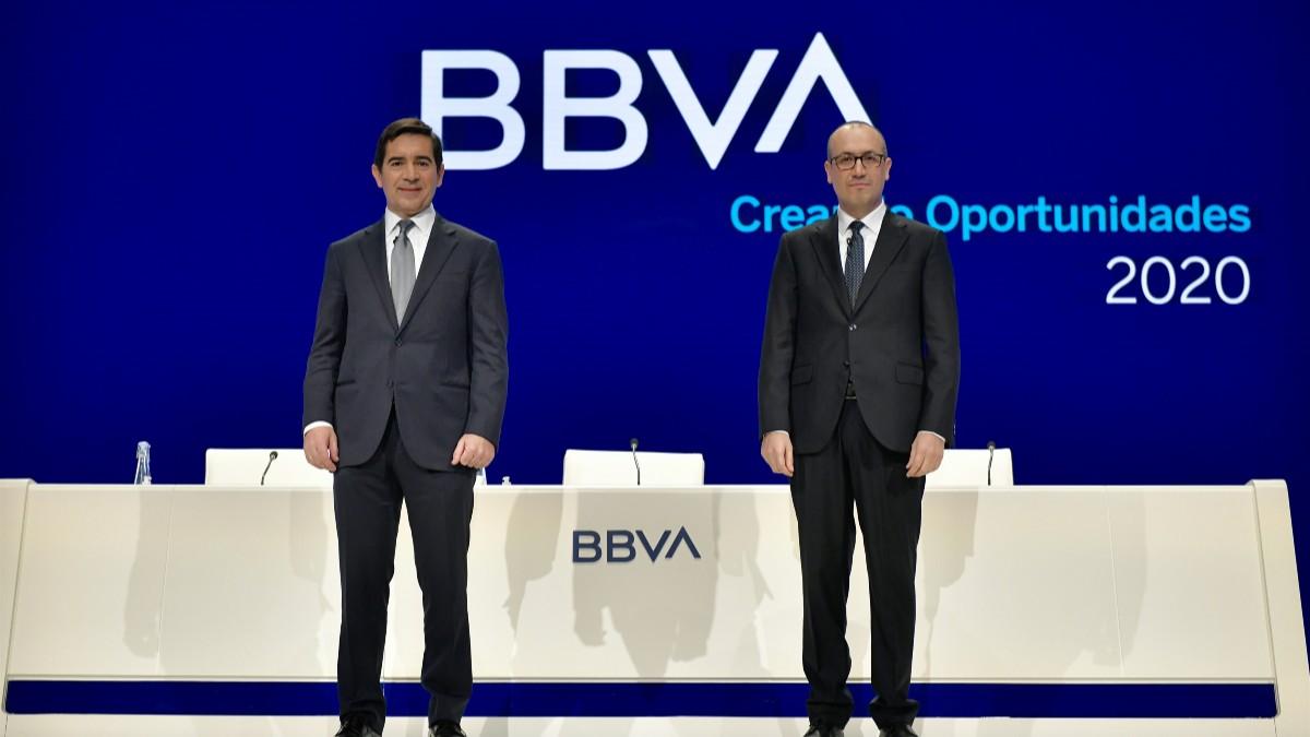 La cúpula de BBVA renunciará a la retribución variable de 2020 para encarar la crisis del coronavirus
