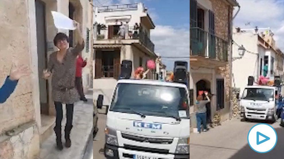 El alcalde socialista de Santa Eugenia (Mallorca) convoca una 'vermutada' en su pueblo en plena cuarentena por el coronavirus. (Vídeo: 'Última Hora')