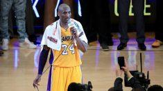 Kobe Bryant durante su último partido con los Lakers.