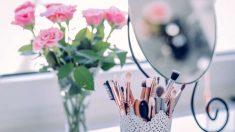 Los pinceles de maquillaje deben estar siempre en perfecto estado para funcionar correctamente