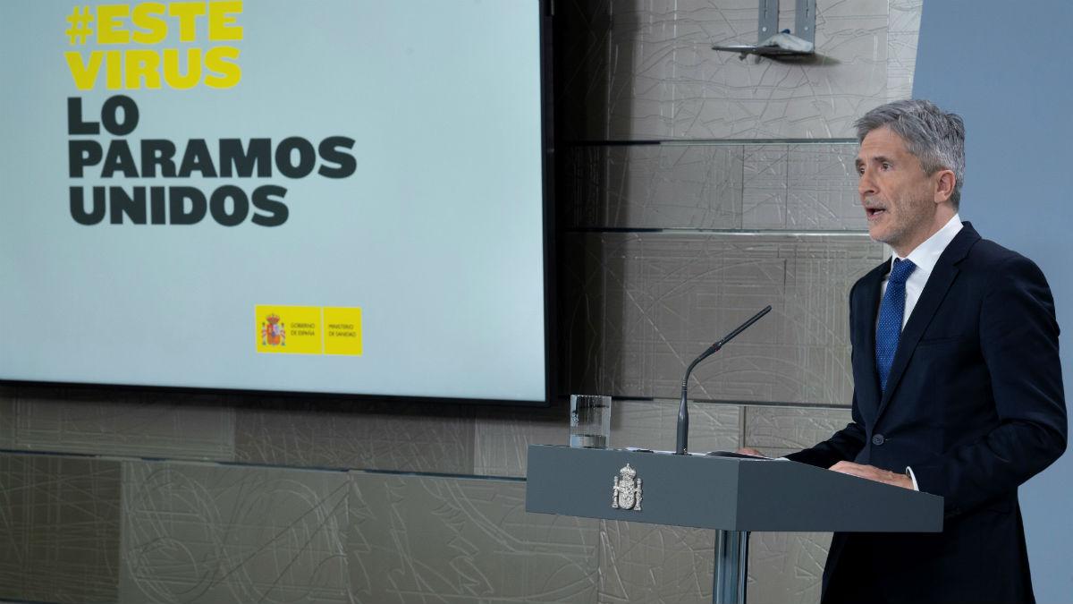 El ministro del Interior Fernando Grande-Marlaska. Foto: EFE