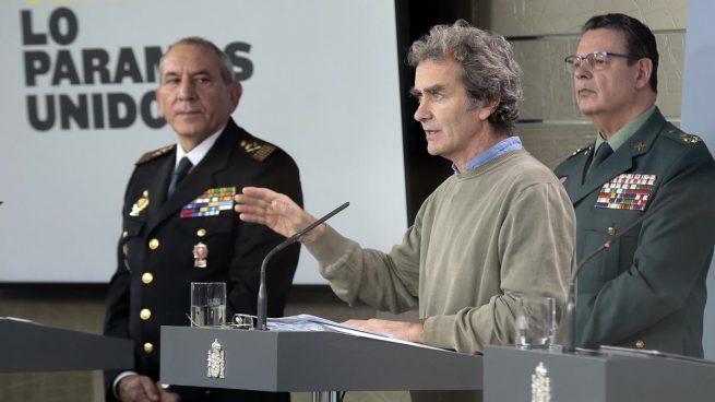José Ángel González, Fernando Simón y Laurentino Ceña, positivos por coronavirus (Foto: EP)