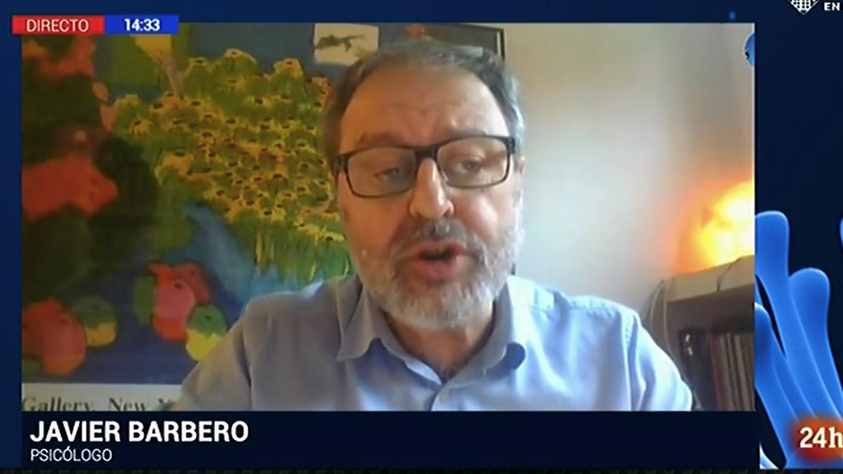 Javier Barbero, concejal de Más Madrid en TVE.