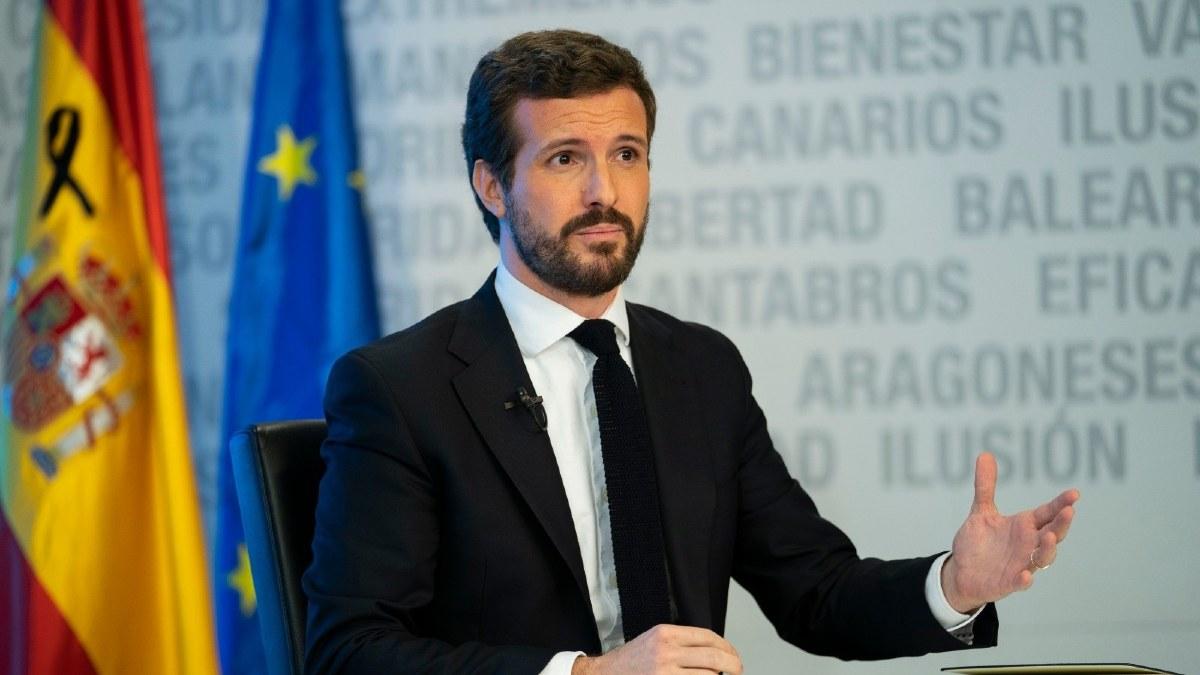 Pablo Casado. Foto: EP