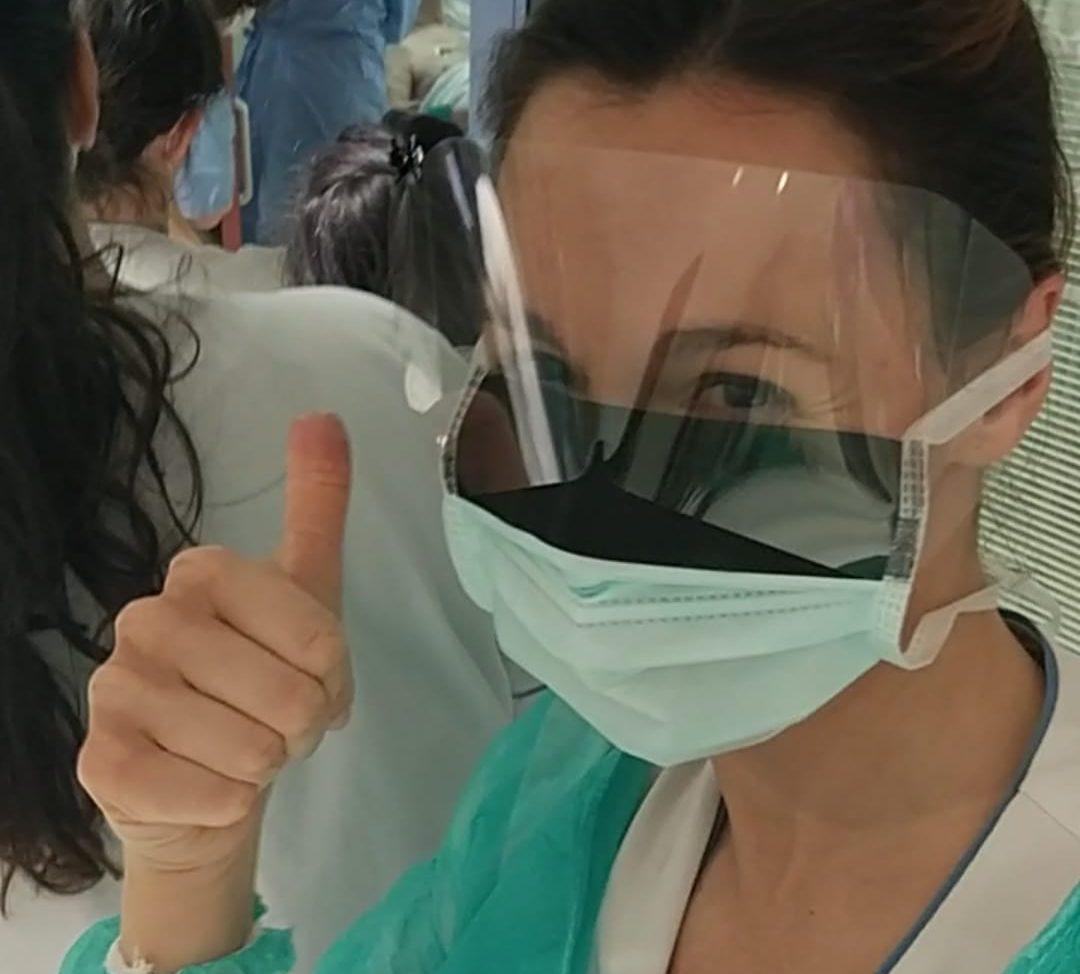 Beatriz, enfermera del Hospital Universitario Fundación Alcorcón.