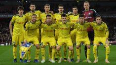 El BATE Borisov en un partido de Europa League (Getty).