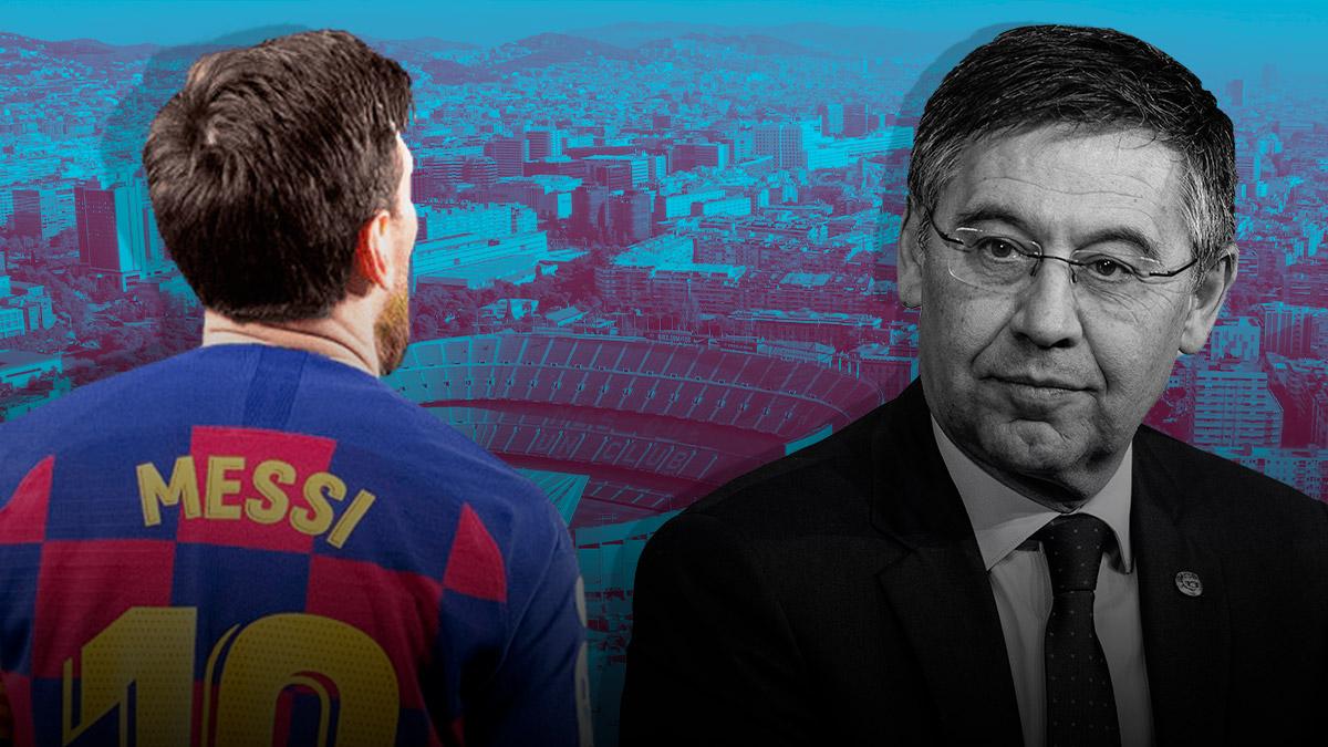 Bartomeu niega estar detrás de las filtración de Messi.