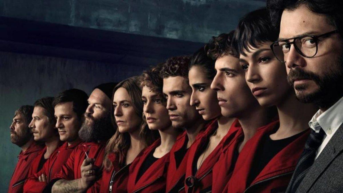 Netflix desvela el título de los ocho capítulos de 'La casa de papel'