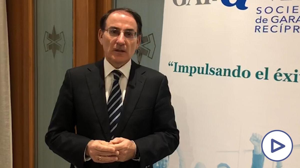 Javier González de Lara, presidente de CEA.