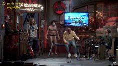 El hombre desnudo en 'La Resistencia'