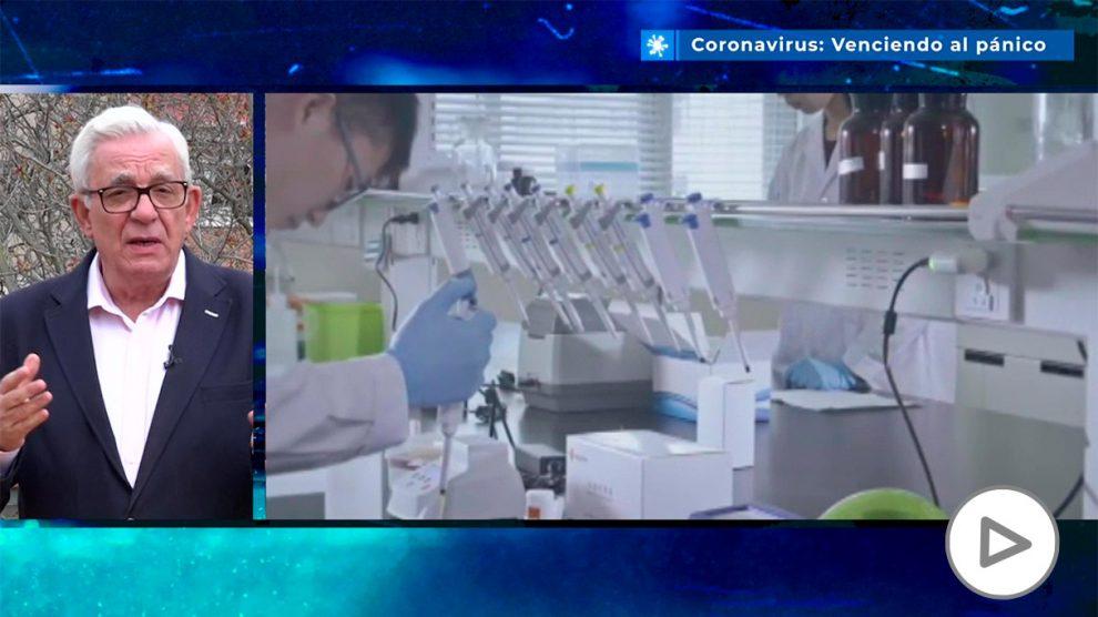 Jesús Sánchez Martos: «Quién debe hacerse primero el test del coronavirus»