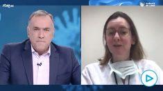 Entrevista de la médico Fátima Brañas en 'Los Desayunos de TVE' de Xabier Fortes.