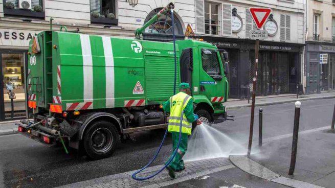 Limpieza calles por coronavirus